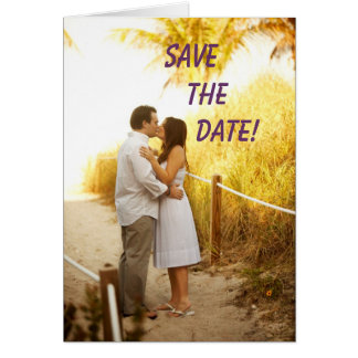 UIMG_4533 -1, SAVE     THE          DATE! GREETING CARD