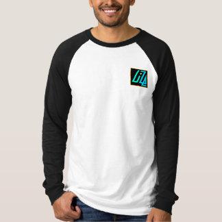 UIZE Black & White Raglan (pocket position) Shirt