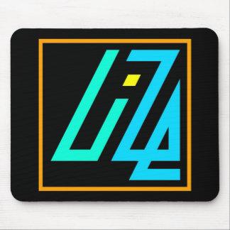 UIZE Mousepad (negro, horizontales) Alfombrilla De Ratón