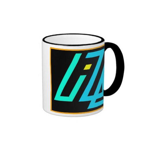 UIZE Mug (black ringer)