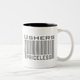 Ujieres inestimables tazas de café