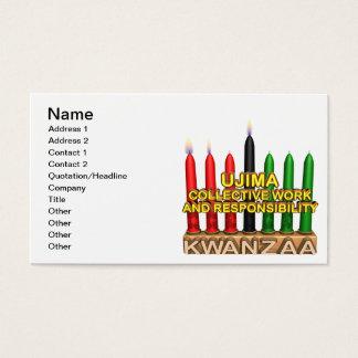 Ujima Business Card
