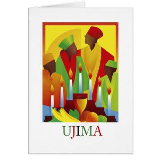 UJIMA Kwanzaa Holiday Greeting Cards