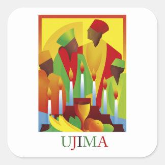 UJIMA Kwanzaa Stickers