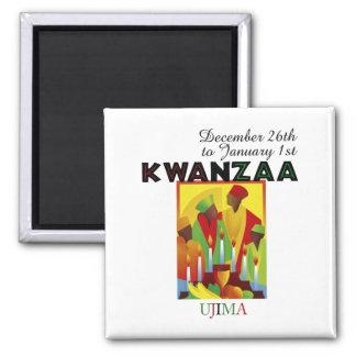UJIMA - Responsibility 2 Inch Square Magnet