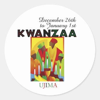 UJIMA - Responsibility Classic Round Sticker
