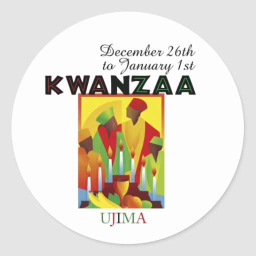 UJIMA - Responsibility Round Sticker