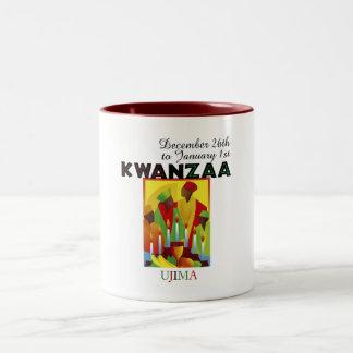 UJIMA - Responsibility Two-Tone Coffee Mug