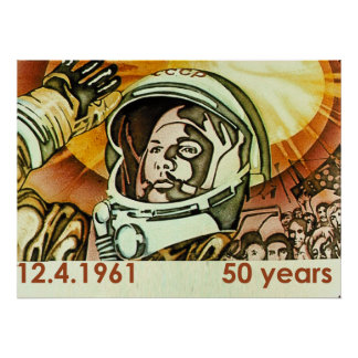 Ujri Gagarin Poster