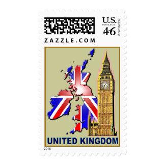 UK 3 copy Postage Stamp