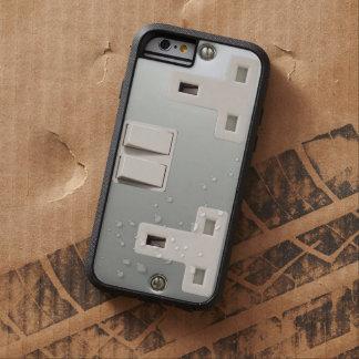 UK AC BS 1363 Electrical Plug Socket Tough Xtreme iPhone 6 Case