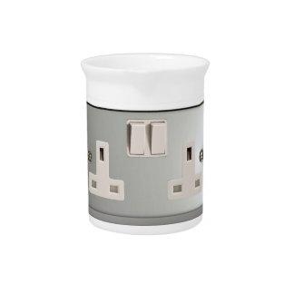 UK AC BS 1363 Plug Socket [British Standard] Beverage Pitcher