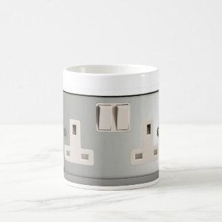 UK AC BS 1363 Plug Socket [British Standard] Coffee Mug