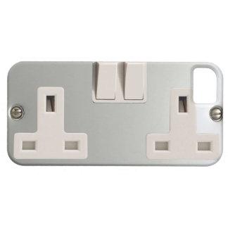 UK AC BS 1363 Plug Socket [British Standard] iPhone SE/5/5s Case