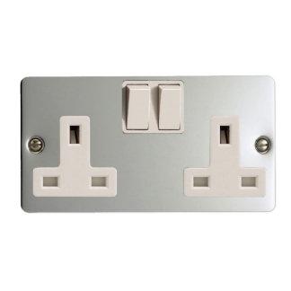 UK AC BS 1363 Plug Socket [British Standard] Label