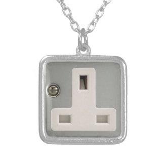 UK AC BS 1363 Plug Socket [British Standard] Custom Necklace
