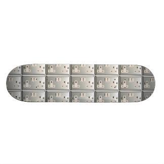 UK AC BS 1363 Plug Socket [British Standard] Skateboard