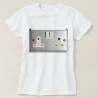 UK AC BS 1363 Plug Socket [British Standard] T-Shirt
