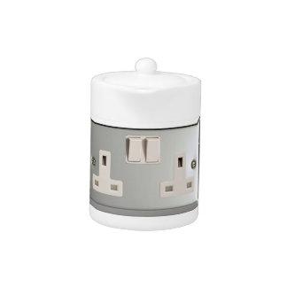 UK AC BS 1363 Plug Socket [British Standard] Teapot