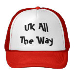 UK All The Way Mesh Hat