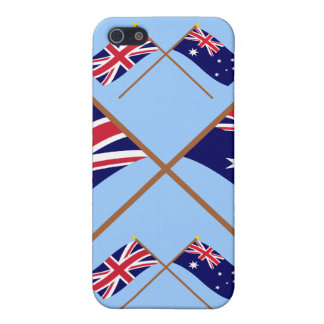 UK and Australia Crossed Flags iPhone 5 Cover