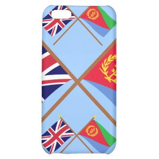 UK and Eritrea Crossed Flags iPhone 5C Case