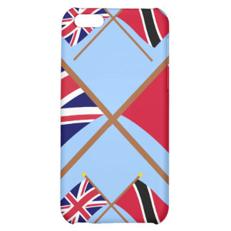 UK and Trinidad & Tobago Crossed Flags iPhone 5C Covers