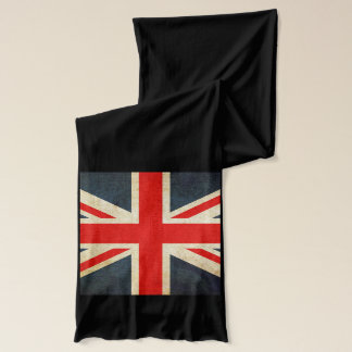 UK and USA Flag Long Cotton Jersey Scarf