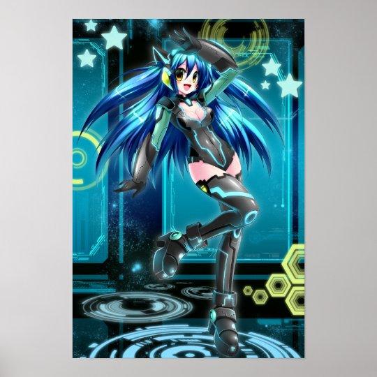 UK Anime Network Mizuki Poster
