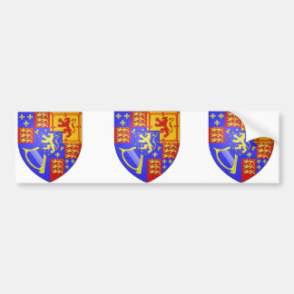 UK Arms 1689, Netherlands Bumper Sticker