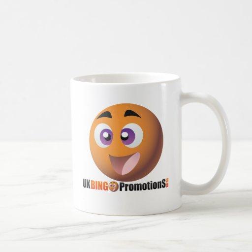 UK Bingo Smiley & Logo Coffee Mugs