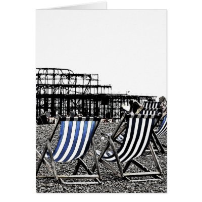 (UK) Brighton Deck Chairs card