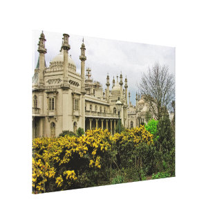 (UK) Brighton Pavillion Wrapped Canvas