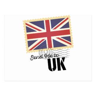 UK Britain Flag Life Send Me To Postcard