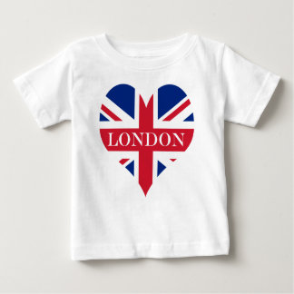 UK Britain Royal Union Jack Flag Baby T-Shirt