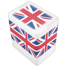 UK Britain Royal Union Jack Flag Drink Cooler