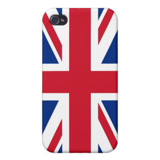 UK Britain Royal Union Jack Flag iPhone 4/4S Cover