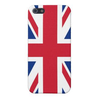 UK Britain Royal Union Jack Flag iPhone SE/5/5s Case