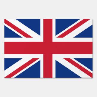 UK Britain Royal Union Jack Flag Lawn Sign