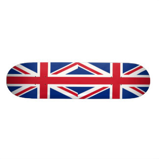 UK Britain Royal Union Jack Flag Skateboard