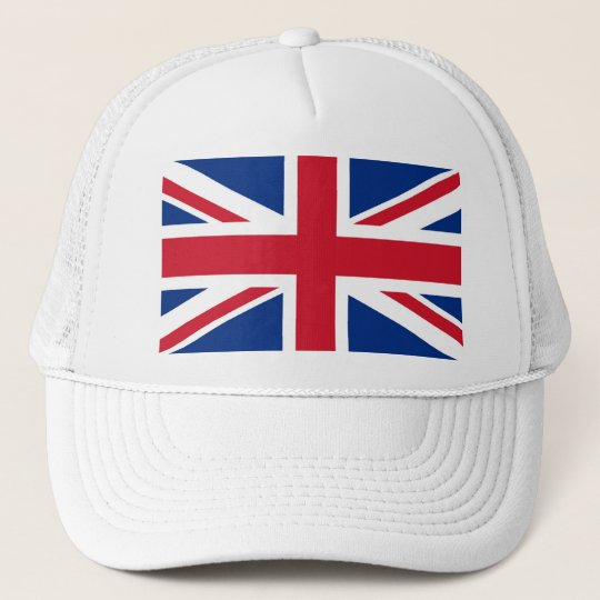 UK Britain Royal Union Jack Flag Trucker Hat