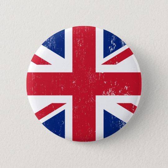 UK British Great Britain England English Flag Pinback Button