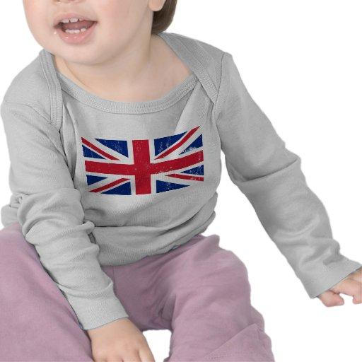 UK British Great Britain England English Flag Tee Shirt