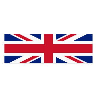 UK British Union Jack Flag Business Card Templates