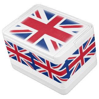 UK British Union Jack flag Great Britain Cooler