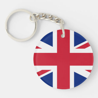 UK British Union Jack Flag Acrylic Key Chains