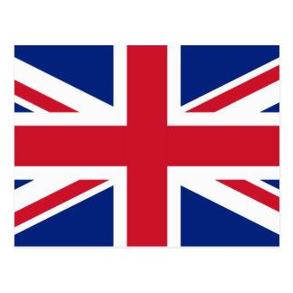 UK British Union Jack Flag Postcard