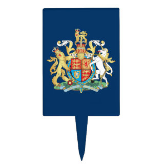 UK coat of arms Cake Topper