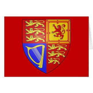 UK COAT OF ARMS CARD