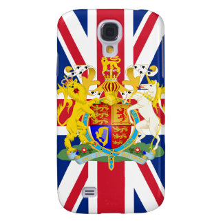 UK Coat of Arms & Flag Samsung Galaxy S4 Cover